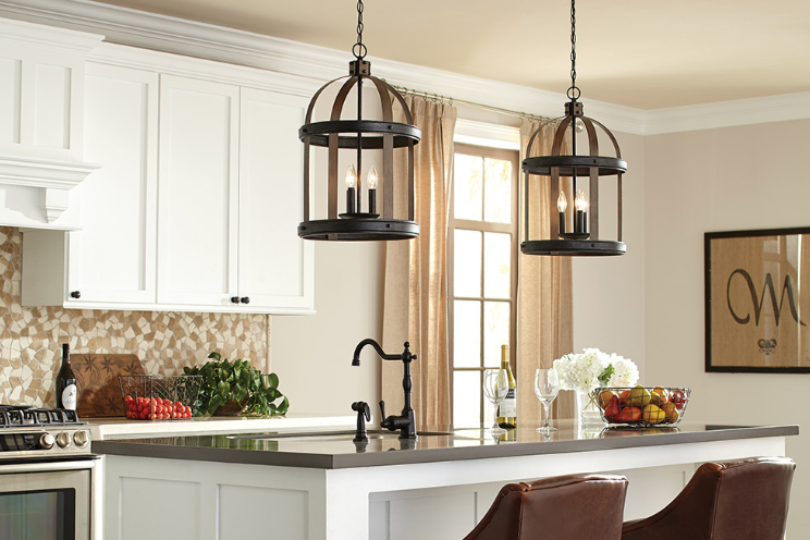 How to Choose Pendant Lights for Kitchen Island?